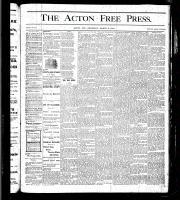 Acton Free Press (Acton, ON), March 2, 1876