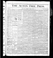 Acton Free Press (Acton, ON), March 9, 1876