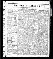 Acton Free Press (Acton, ON), March 16, 1876