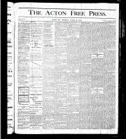Acton Free Press (Acton, ON), March 23, 1876