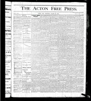 Acton Free Press (Acton, ON), March 30, 1876