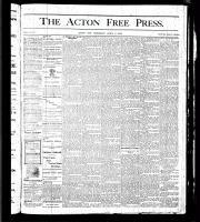 Acton Free Press (Acton, ON), April 6, 1876