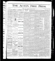 Acton Free Press (Acton, ON), April 20, 1876