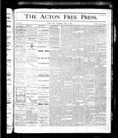 Acton Free Press (Acton, ON), May 4, 1876