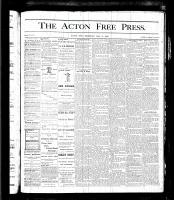 Acton Free Press (Acton, ON)11 May 1876