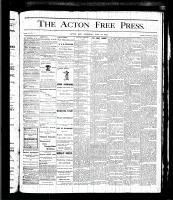 Acton Free Press (Acton, ON), May 18, 1876
