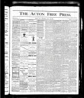 Acton Free Press (Acton, ON), MAY 25, 1876