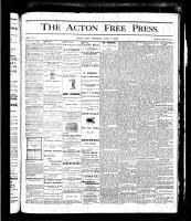 Acton Free Press (Acton, ON), July 6, 1876