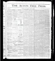 Acton Free Press (Acton, ON), July 20, 1876