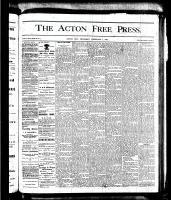 Acton Free Press (Acton, ON)1 Feb 1877