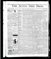 Acton Free Press (Acton, ON), July 4, 1878