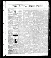 Acton Free Press (Acton, ON), July 11, 1878