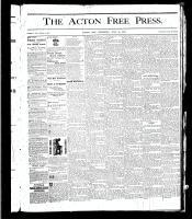 Acton Free Press (Acton, ON), July 18, 1878