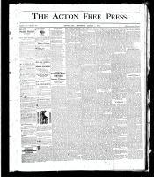 Acton Free Press (Acton, ON), August 1, 1878