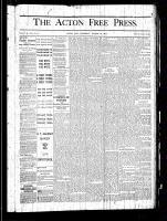Acton Free Press (Acton, ON), August 22, 1878