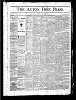 Acton Free Press (Acton, ON), September 5, 1878