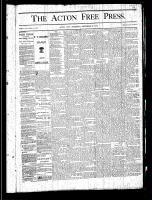 Acton Free Press (Acton, ON), September 26, 1878