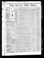 Acton Free Press (Acton, ON), October 17, 1878