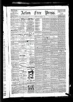 Acton Free Press (Acton, ON)25 Dec 1879