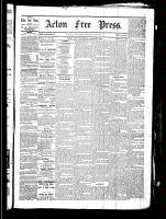 Acton Free Press (Acton, ON), March 25, 1880