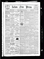 Acton Free Press (Acton, ON), April 29, 1880