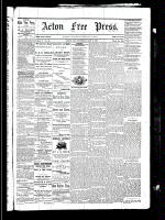 Acton Free Press (Acton, ON), May 6, 1880
