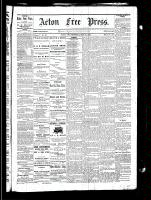 Acton Free Press (Acton, ON), May 27, 1880