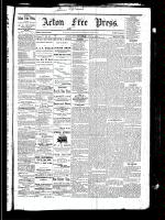 Acton Free Press (Acton, ON), June 3, 1880