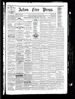 Acton Free Press (Acton, ON), January 13, 1881