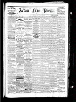 Acton Free Press (Acton, ON), February 3, 1881