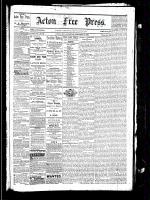 Acton Free Press (Acton, ON), February 10, 1881