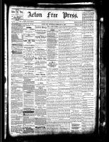 Acton Free Press (Acton, ON), February 17, 1881