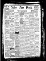 Acton Free Press (Acton, ON), March 3, 1881
