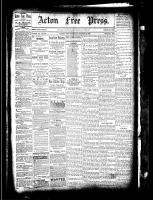 Acton Free Press (Acton, ON), March 10, 1881