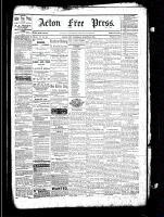 Acton Free Press (Acton, ON), March 24, 1881