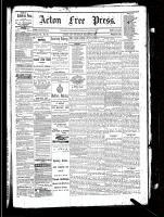Acton Free Press (Acton, ON), March 31, 1881