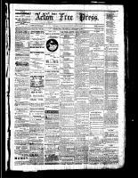 Acton Free Press (Acton, ON), December 8, 1881