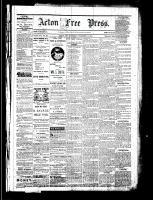 Acton Free Press (Acton, ON), December 15, 1881