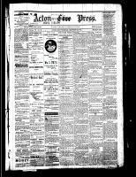 Acton Free Press (Acton, ON), December 29, 1881