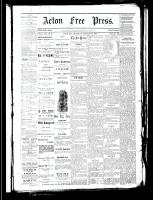 Acton Free Press (Acton, ON), January 25, 1883