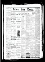 Acton Free Press (Acton, ON), February 1, 1883