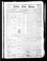 Acton Free Press (Acton, ON), February 8, 1883