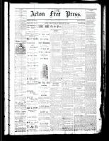 Acton Free Press (Acton, ON), February 15, 1883