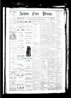 Acton Free Press (Acton, ON), February 22, 1883