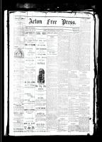 Acton Free Press (Acton, ON), March 1, 1883