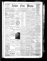 Acton Free Press (Acton, ON), September 20, 1883