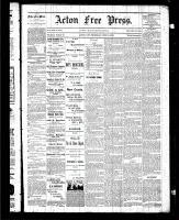 Acton Free Press (Acton, ON), June 18, 1885