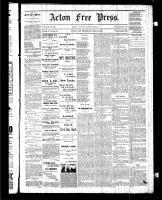 Acton Free Press (Acton, ON), June 25, 1885