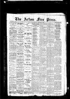 Acton Free Press (Acton, ON), September 3, 1885