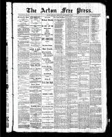 Acton Free Press (Acton, ON), September 17, 1885